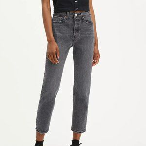 Levi's Wedgie Fit Straight Jeans in Grey Size 31